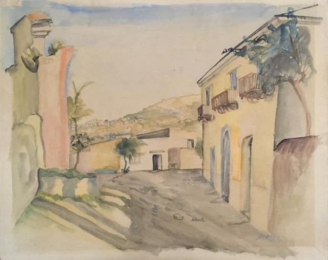 Leopold Survage, 'Ischia', 1947, Wallector