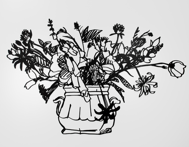 , 'Wildflower Bouquet, (Two Handled Vase),' 1988, David Benrimon Fine Art