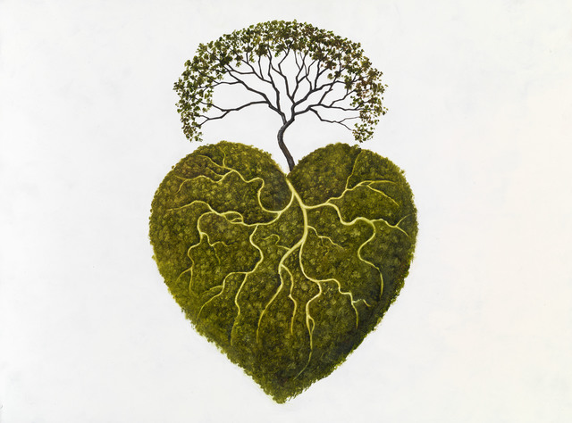 , 'Bush Heart,' 2019, Beatriz Esguerra Art