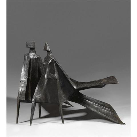 , 'Maquette for Jubilee II (in 2 parts),' 1983, Galerie de Bellefeuille