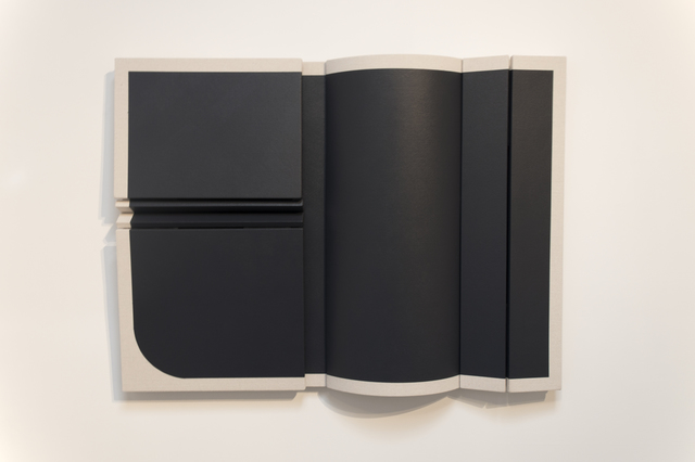 , 'Untitled Black Curve,' 2018, Wilding Cran Gallery