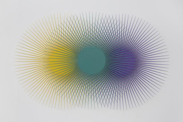 , 'Burst Star (Lemon, Teal, Purple),' 2018, Eleven Twenty Projects