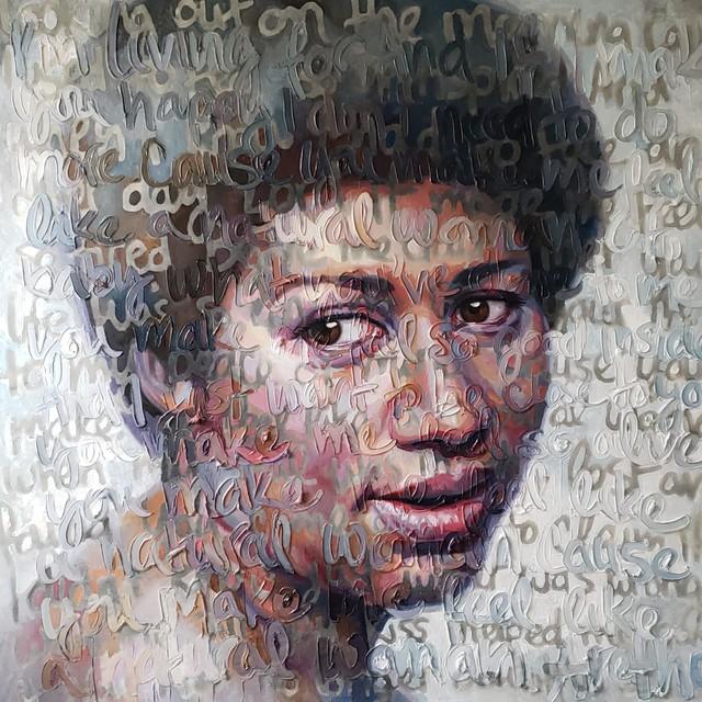 , 'Aretha franklin,' 2018, JF Gallery