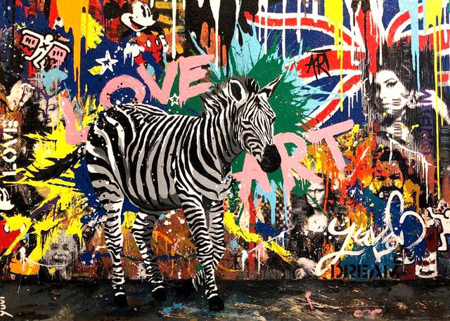 Yuvi, 'Urban Zebra', 2018, Dan Gallery