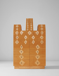 "Judy Kensley McKie, '""Chest with Diamonds and Dots"",' 1997, Phillips: Design"