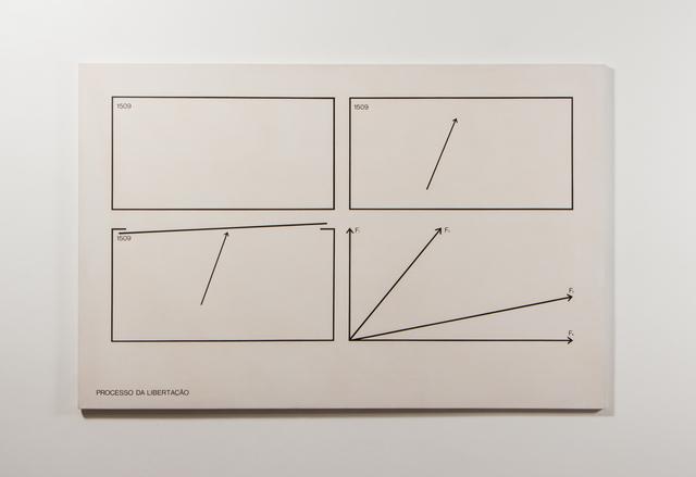, 'Processo da Libertação,' 1974, Galeria Raquel Arnaud
