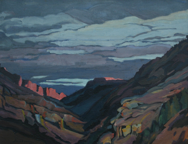 , 'Clouds Over Apacheland,' 1916-1966, JRB Art at The Elms