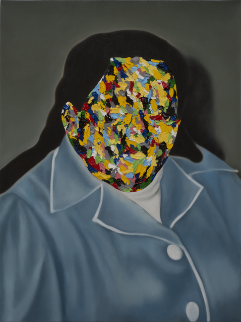 , 'Coloured Portrait (Favouring Yellow),' 2018, 99 Loop Gallery
