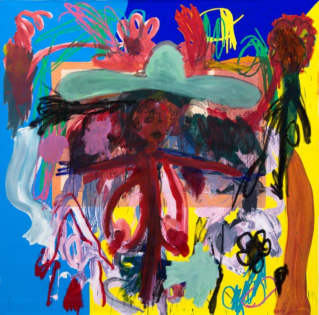 , 'Flower Cowboy,' 2018, Galerie Krinzinger