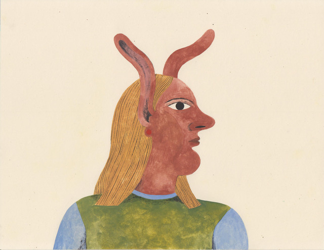 , 'Portrait with Ears,' 2017, HARPY