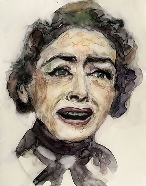 ", '""I love playing bitches. There's a lot of bitch in every woman--a lot in every men."" -- Joan Crawford,' 2017, Ro2 Art"