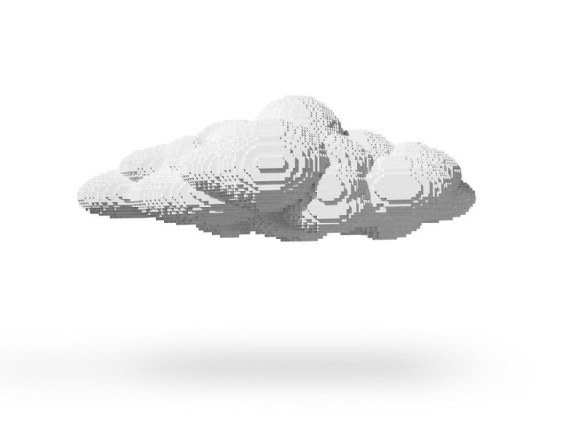 , 'Large Cloud,' 2012, Avant Gallery