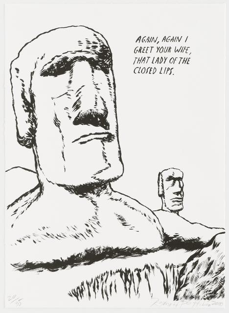 , 'Untitled (Easter Island),' 2000, Brooke Alexander, Inc.