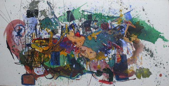 Marcelo Legrand, 'Arte Ba 4', Painting, Galeria Sur