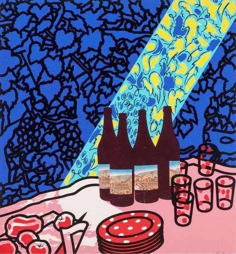 Patrick Caulfield, 'Picnic Set', 1978, Dellasposa