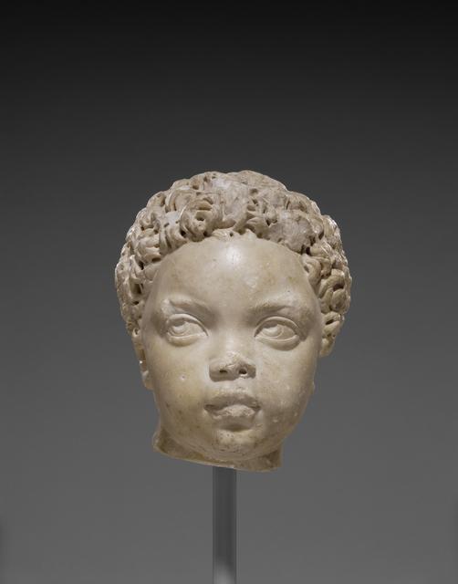 'Portrait Head of an African Child', 150 -200, J. Paul Getty Museum
