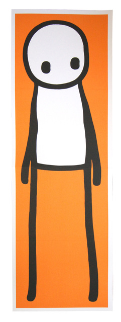 Stik, 'Standing Figure Orange', 2015, Posters, Offset lithographic poster, EHC Fine Art