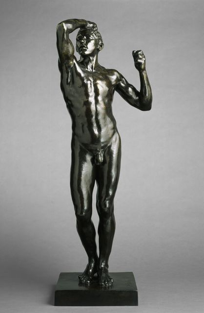 , 'The Age of Bronze, First Reduction,' 1876, Brooklyn Museum
