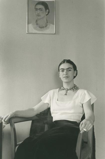 , 'Frida at the Barbican Hotel,' 1931, Bentley Gallery
