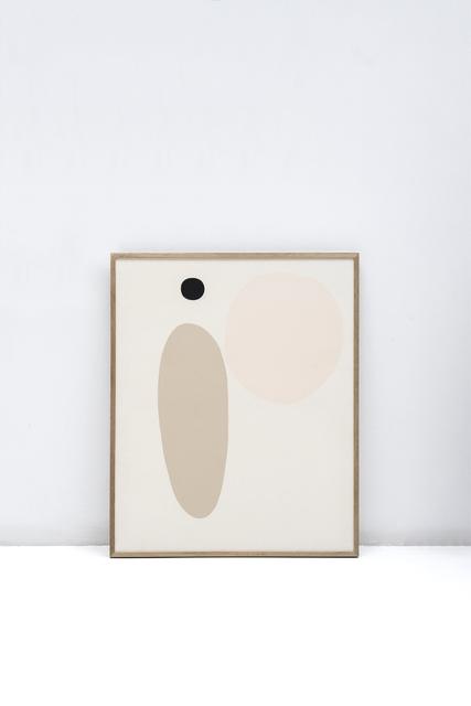 Maru Quiñonero, 'A las estrellas lo inmenso', 2020, Painting, Gouache on canvas, Alzueta Gallery