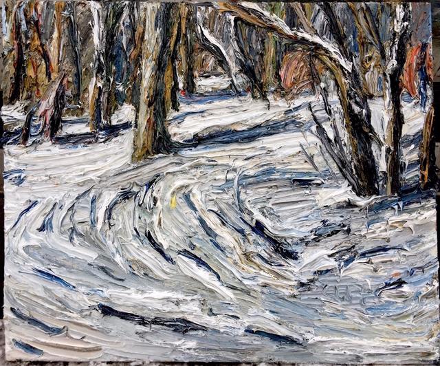, 'Wintersonne im Tiergarten,' 2017, Galerie Kornfeld