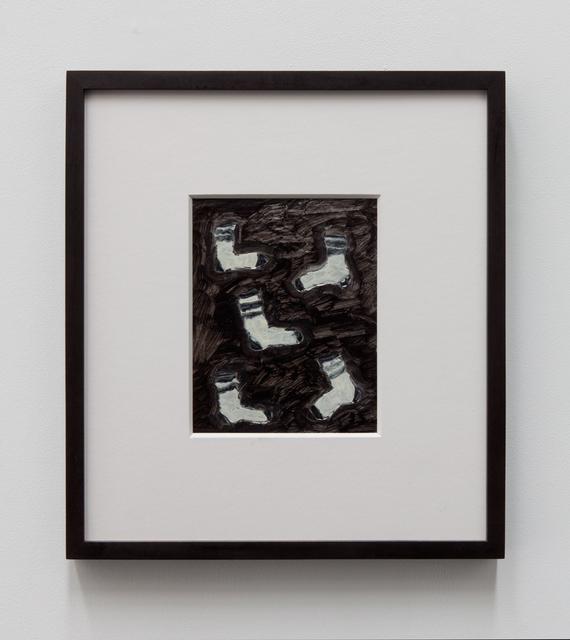, '5 socks,' 2015, Tatjana Pieters