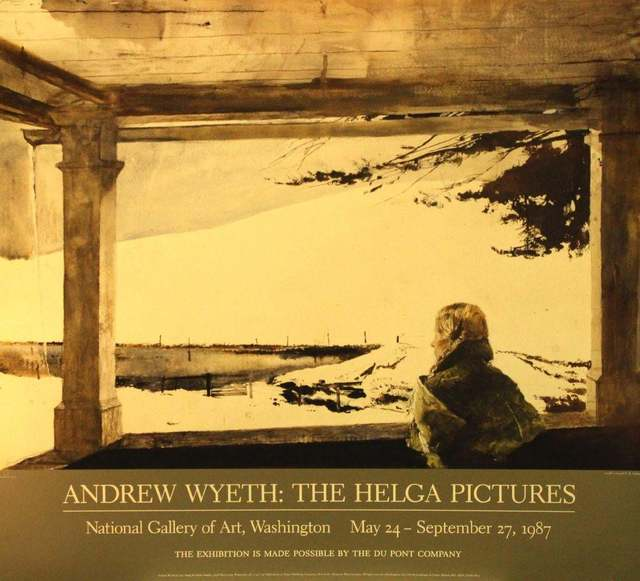 Andrew Wyeth, 'The Helga Pictures, National Gallery of Art, Washington, DC, May 24-September 27, 1987: Study For Easter Sunday', 1986, The Loft Fine Art