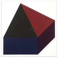 Sol LeWitt, Forms Derived from a Cube (Colors Superimposed), Plate #10