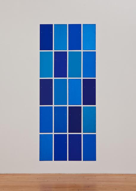 , 'Blue Angel,' 2010, Galerie Christian Lethert