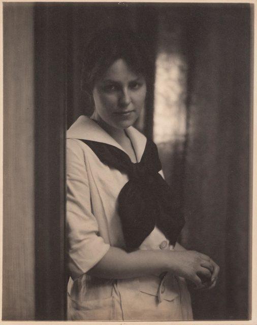 Alfred Stieglitz, '[Portrait of Marie Rapp at 291]', 1941, Doyle
