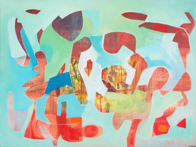 Isabel Brinck, 'The Hidden Parrot', RUBBER STAMP ART PROJECT