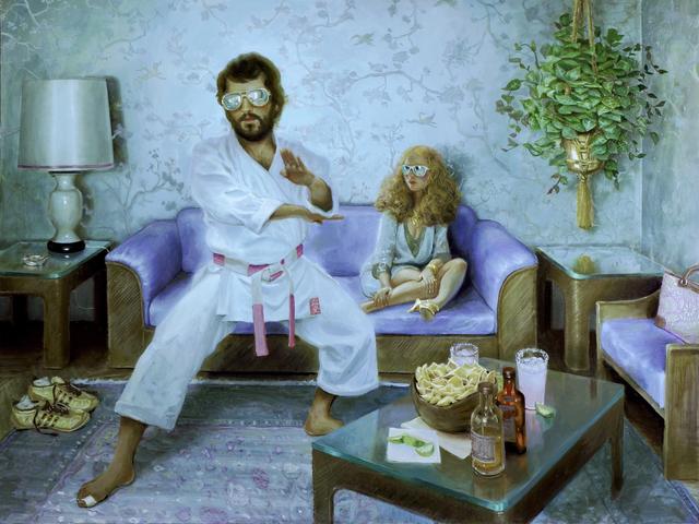 Jonathan Viner, 'A Date with Sensei Steve', 2019, Corey Helford Gallery