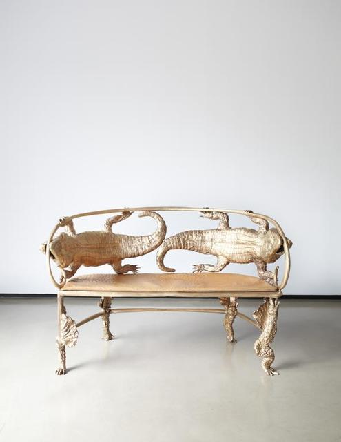 , 'Crocodile Banquette,' 2006, David Benrimon Fine Art