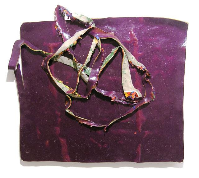 , 'I així ho vaig deixar (violeta),' 2005, Galeria Marc Domenech