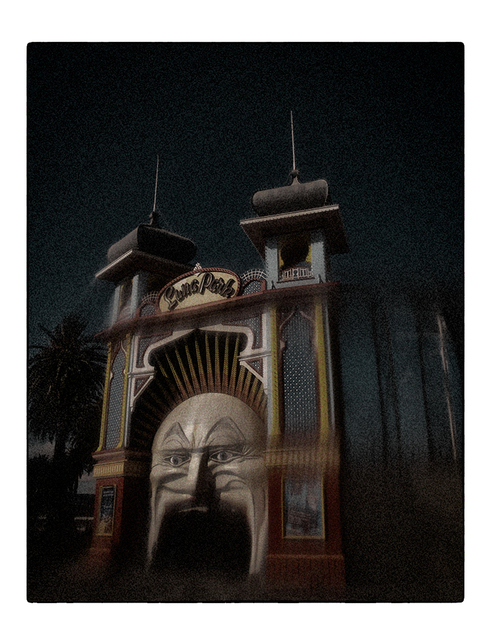 Christopher Rimmer, 'Luna Park 7', 2015, Photography, Pigment print on paper, Angela Tandori Fine Art