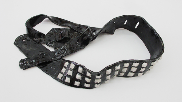 Rose Eken, 'Guitar Strap With Rivets', 2013, V1 Gallery