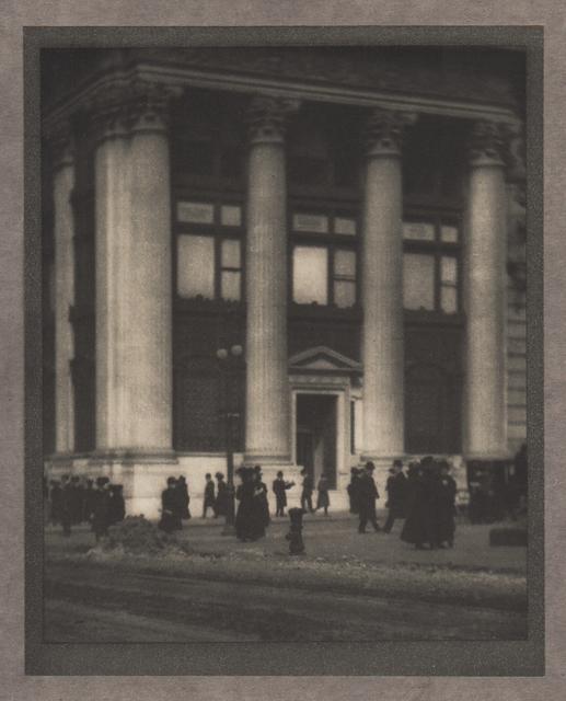 , 'The Knickerbocker Trust Company,' Neg. date: 1909 c. / Print date:1909, Alan Klotz Gallery