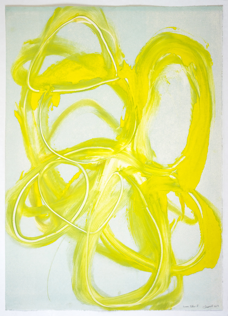 , 'Lemon Yellow I,' 2017, Manneken Press