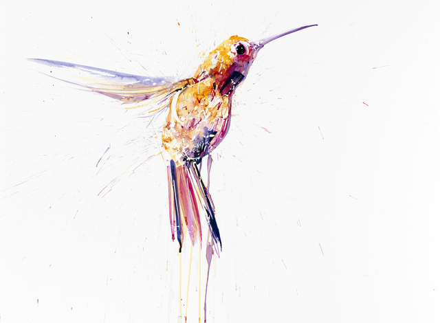 Dave White, 'Humming Bird I Small Pink', Visions West Contemporary