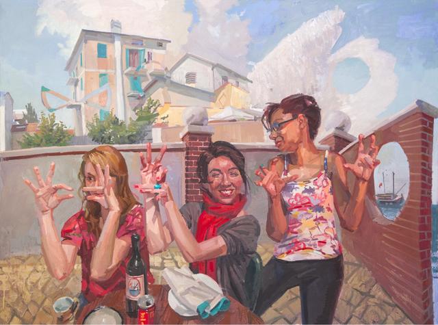 , 'Lingua Franca #2,' 2016, galerie bruno massa