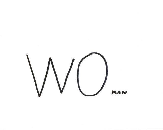 , 'Resist Drawings (WOman),' 2018, Jane Lombard Gallery