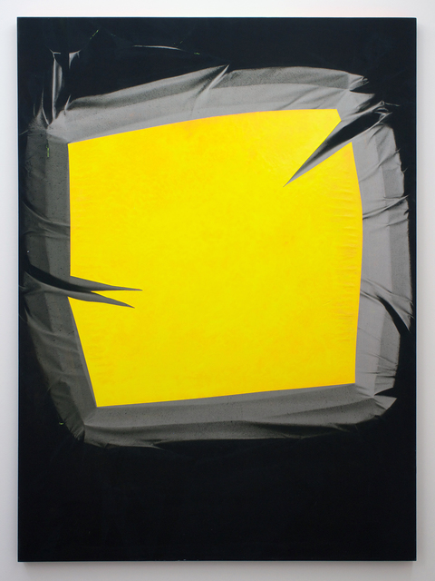 Chris Duncan, '– Yellow & Gray (Winter-Summer 2016) Six-Month Exposure/Oakland', 2016, Romer Young Gallery