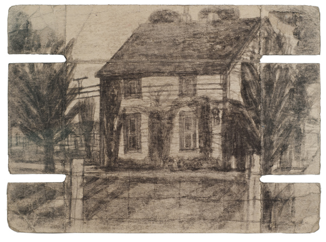 , 'Untitled (House with trees; verso: shed),' n.d., Fleisher/Ollman
