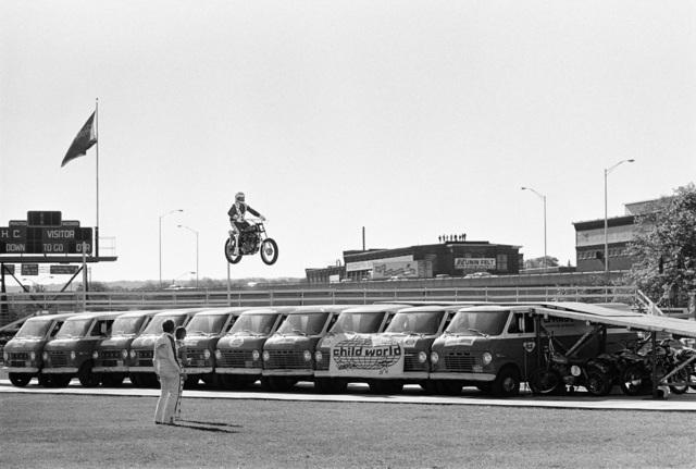 , 'Evel Knievel Van Jump,' 1975, Porch Gallery