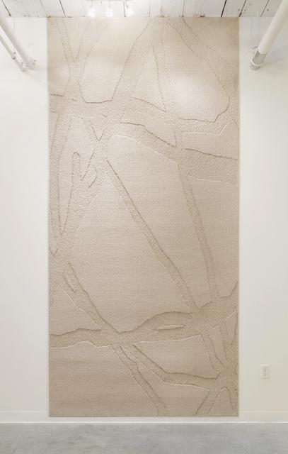 , 'Resistance Weave (Marconi Action Back Sparkle II),' 2014, GRIN
