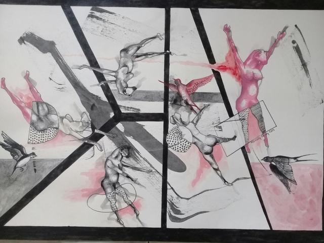 Mamady Seydi, 'Untitled 2', 2018, Galerie Galea