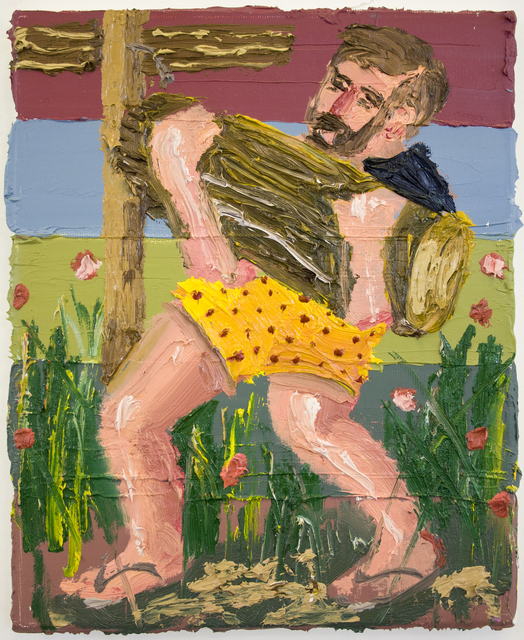 , 'Weight lifting III,' 2017, Art+Text Budapest