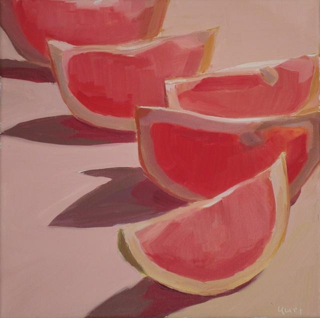 Yuri Tayshete, 'Lighted Lined Grapefruits', 2018, 440 Gallery