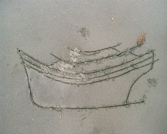 , 'Noking's Sketch in the Sand of a Boat Used for Smuggling, Balabac, Phillipines,' , Pictura Gallery