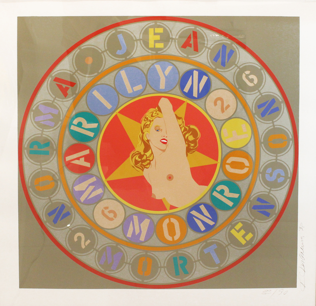 Robert Indiana, 'Metamorphosis of Norma Jean (Marilyn Monroe)', 1996, Fine Art Auctions Miami